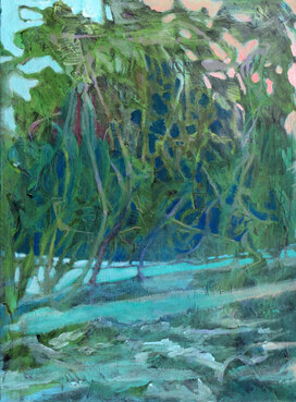 Manatee Cove by Jane Medved, copyright 2013, 24x18